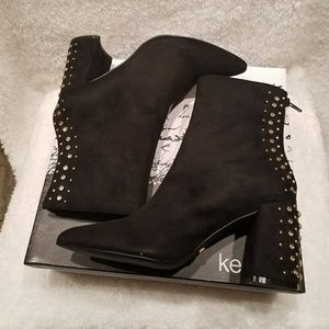 Kensie New Ankle Boot with Embellishments Size 8